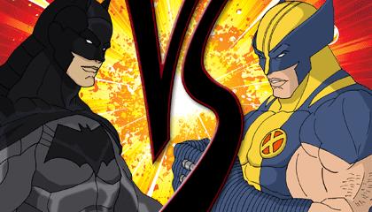 Batman Vs Wolverine Wallpaper Heroes Brawl Edition Version 1