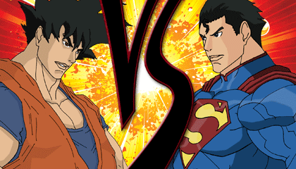 Goku Vs Superman Wallpaper Heroes Brawl Edition Version 1