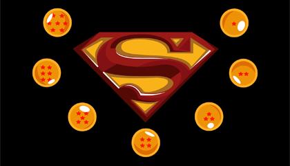 Goku Vs Superman Wallpaper Version 2