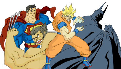 Heroes Brawl Wallpaper Version 2