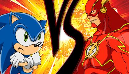 Sonic Vs The Flash Wallpaper Heroes Brawl Edition Version 1