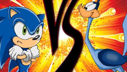 Sonic Vs The Road Runner Wallpaper Heroes Brawl Edition Version 1