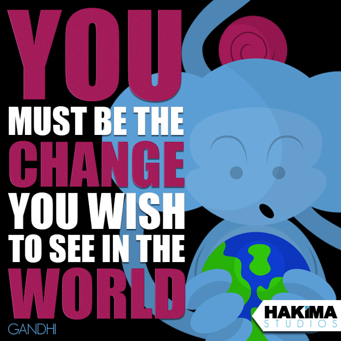 Quotes With Monki - Gandhi