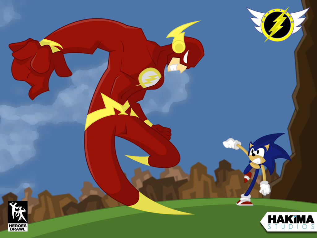 flash vs sonic - photo #19