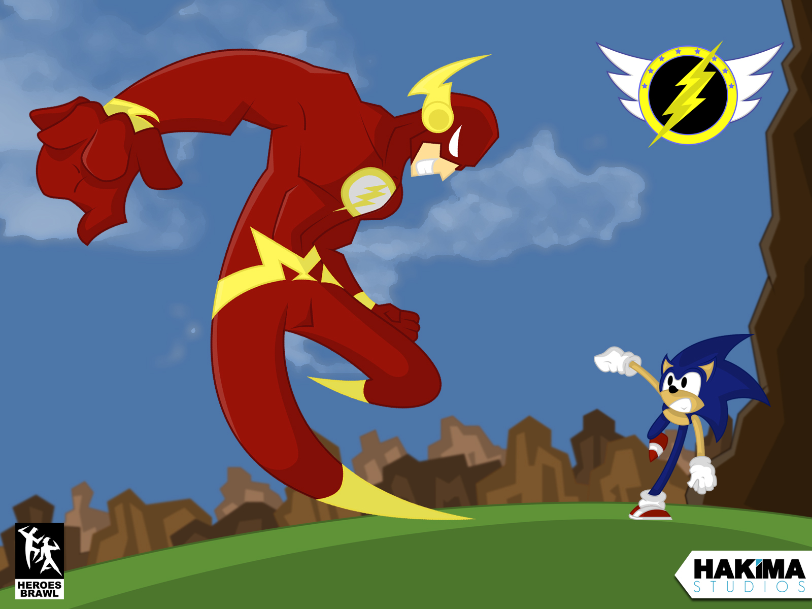 flash vs sonic - photo #42